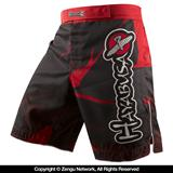 Hayabusa Metaru Performance Shorts (Black/Red)